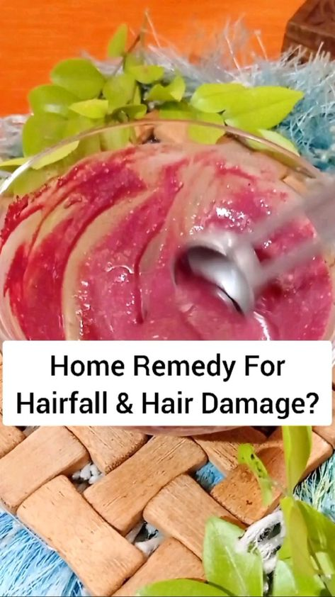 Hibiscus Hair Mask For Hairfall & Hair Damage