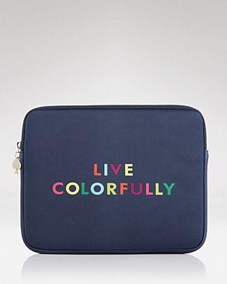 Kate Spade iPad Sleeve. Love love love love mine. Wonderful Christmas gift!