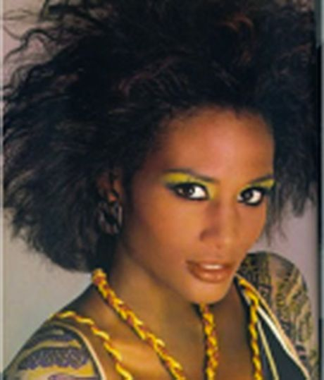 80s Black Hairstyles Fast Hairstyles Beauty Tips Tricks 1980s Makeup And Hair Beverly Johnson Lilac Hair
