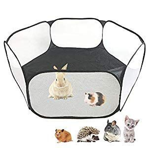 Small Animals Cc Cage Tent Breathable Transparent Pet Playpen Pop Open Outdoor I Animal Small Pets Pet Playpens Small Animal Cage