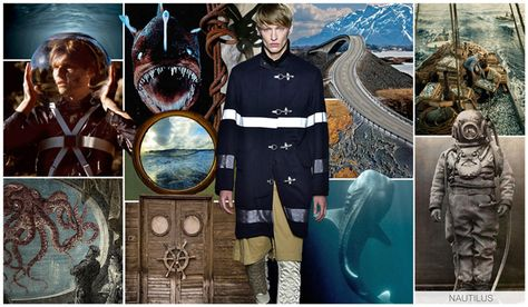 Top Trends shown at MAGIC, Mens, FW 2016-17,, NAUTILUS, trend theme overview
