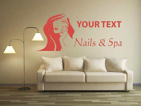 Beauty Salon Wall Decal Window Sticker Beauty Salon Ad sticer Time Decal Open Closed t410