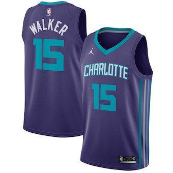 Charlotte Hornets Marvin Williams Statement Purple Swingman Jersey