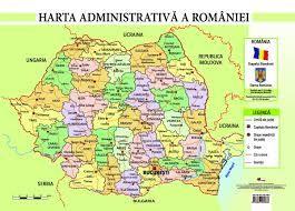 Harta Geografica Romania