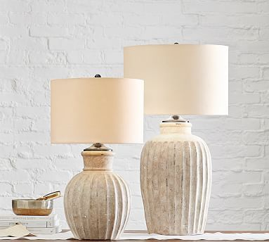 Anders Terra Cotta Table Lamp In 2021 Table Lamp Wood Table Lamp Base Table Lamp