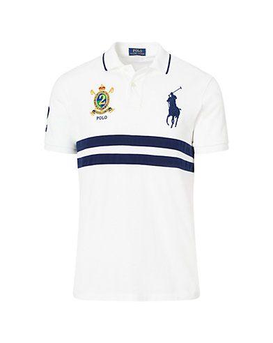 Polo Ralph Lauren Custom Slim Fit Mesh Polo | Polo shirt, Mens ...