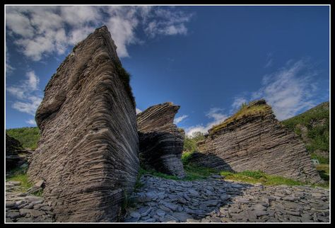 Norwegian rock shore