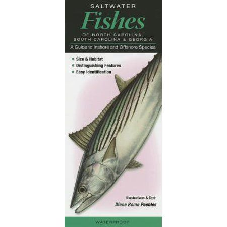 Saltwater Fishes Of North Carolina South Carolina Georgia A Guide To Inshore Offshore Species Other Walmart Com South Carolina Saltwater North Carolina