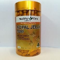 Sữa Ong Chua Healthy Care Royal Jelly 1000mg 365 Vien Sữa Ong