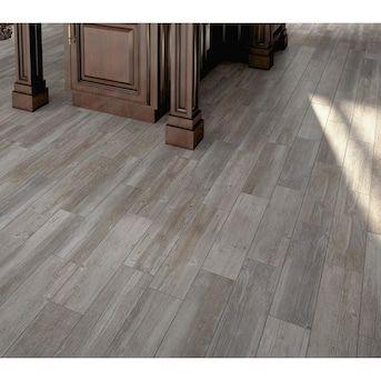 Grey Wood Tile Look