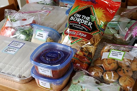 Food ideas to make when delivering food to others....such as a new baby, someone home from the hospital...etc.