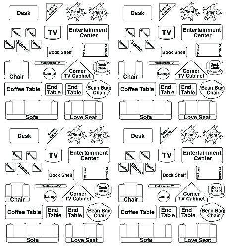 Furniture Cutouts