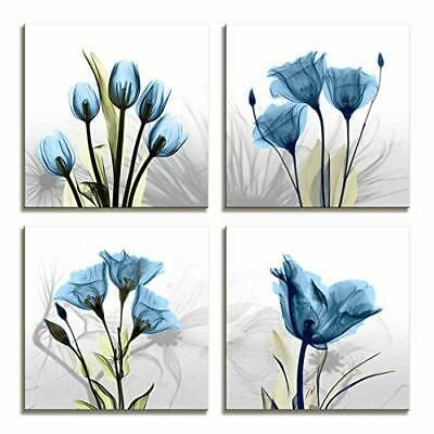 Pin By Dani Ejunior On Art Flower Prints Framed Floral Wall Art Flower Painting Canvas