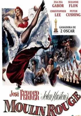 Moulin Rouge 1954 Descargacineclasico Net Cine Clasico Carteles De Cine Pelicula Moulin Rouge