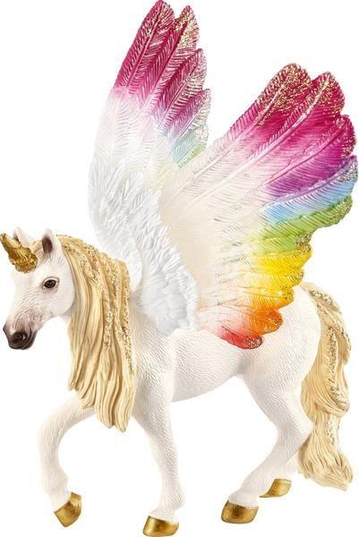 Schleich 70576 Bayala Geflugeltes Regenbogeneinhorn Einhorn Tierfigur Fantasy Kaufen Spielwaren Regenbogen Einhorn Einhorn Bilder Einhorn