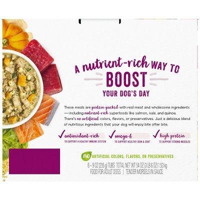 Nestle Purina Beneful Superfood Blend 6pk Variety Pack Wet Dog