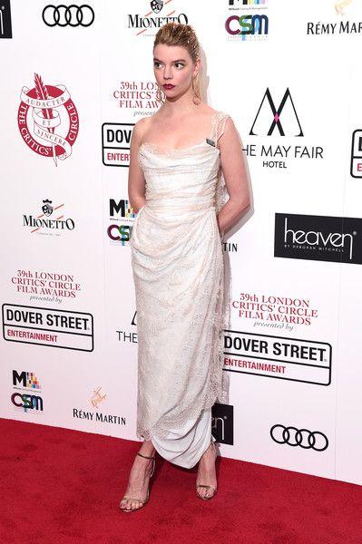 Anya Taylor-Joy attends the 39th London Critics' Circle Choice Awards at The May Fair Hotel.