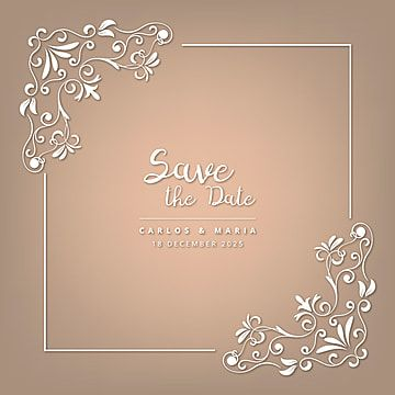 Wedding Ornament Style Borders Wedding Frame Ornament Png And Vector With Transparent Background For Free Download In 2020 Wedding Invitations Borders Wedding Ornament Floral Border Design