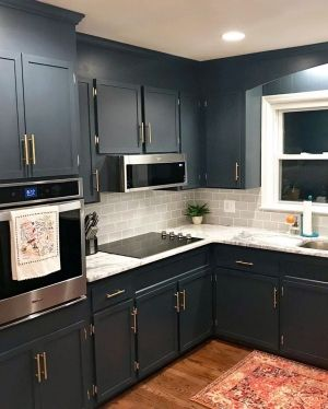 Dark Custom Color Cabinets Painted Kitchen Cabinets Colors Milk Paint Kitchen Cabinets Staining Cabinets