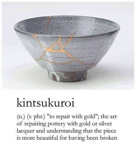So beautiful! | #kintsugi
