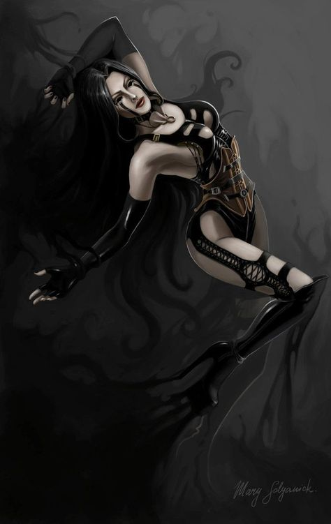 Black Rose Fantasy Art