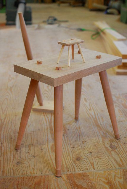 공방에서 Ishitani Furniture Diary Chairs And Stools And Other