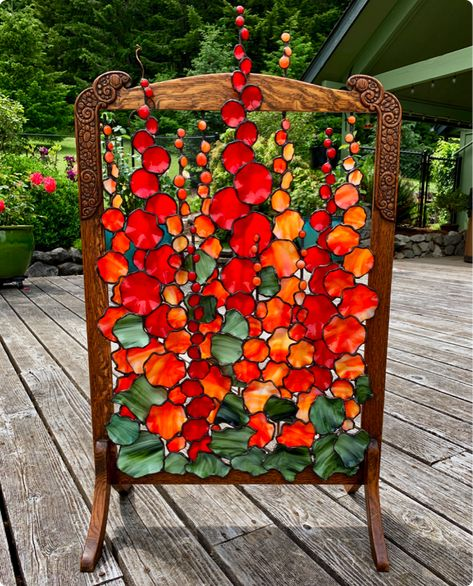 Stained Glass Designs, Stained Glass Projects, Stained Glass Patterns, Stained Glass Art, Stained Glass Windows, Mosaic Garden, Mosaic Art, Mosaic Glass, Fused Glass