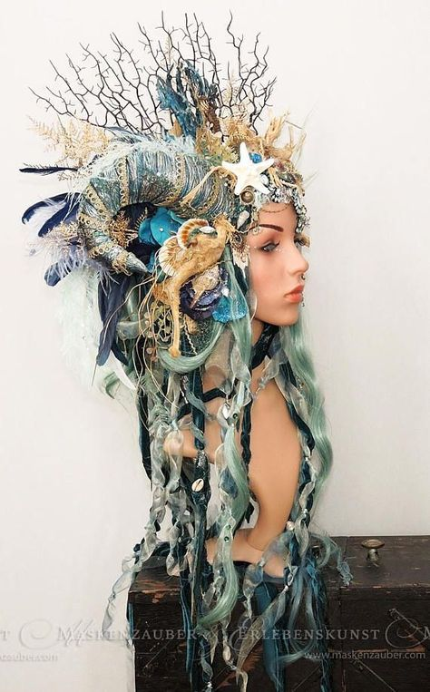 This article is not available - Nymph headdress // mermaid // larp headpiece // fantasy -