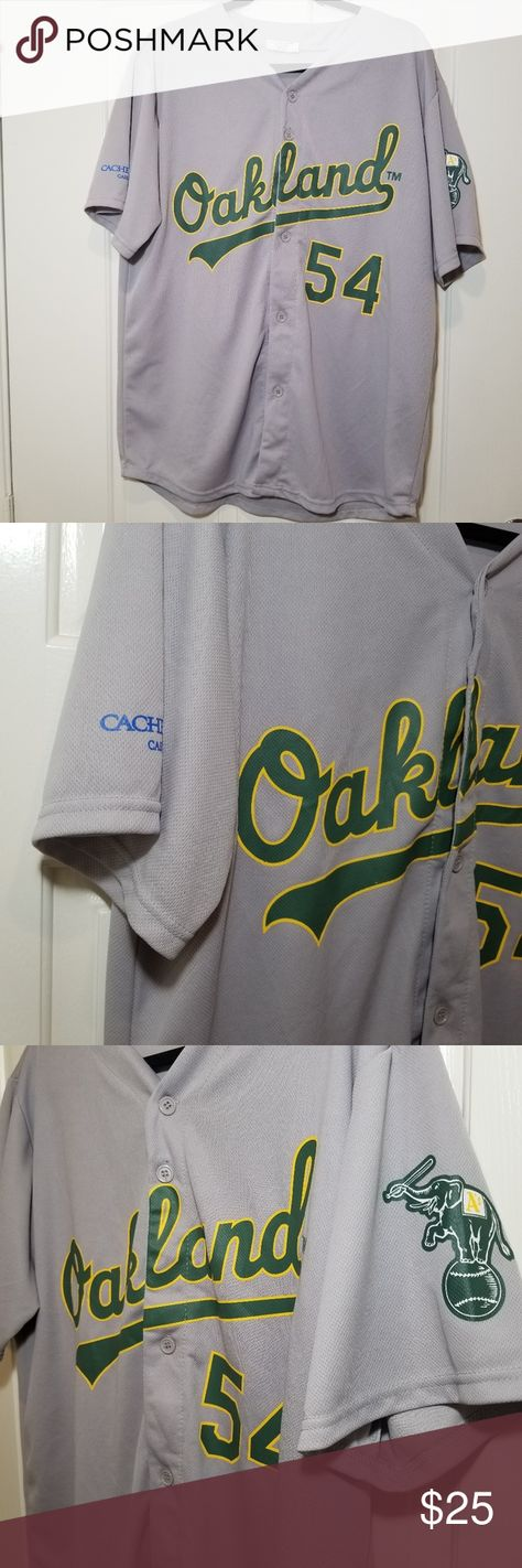 Oakland A's Sonny Gray Jersey Oakland Athletics  Gray Green Yellow  MLB Size Extra Large  Excellent Condition Match Up Tops