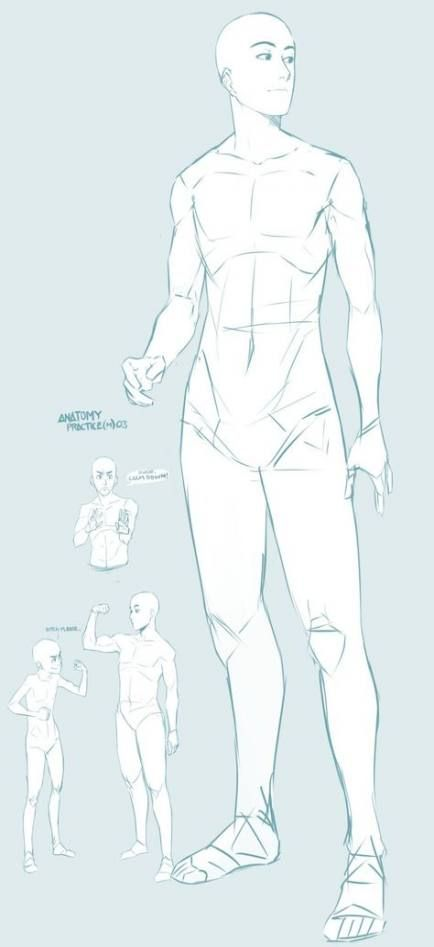 Male Drawing Reference