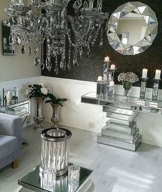 Are You A Fan Of Silver Maison Valentina Presents You With Some Inspirations For The Heart Of Your Home See More At Maisonvalenti With Images Home Decor Decor Room Decor