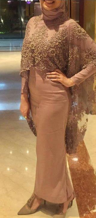 فساتين سواريه محجبات باللون الكشمير Soiree Dress Fashion Dress Party Hijab Evening Dress