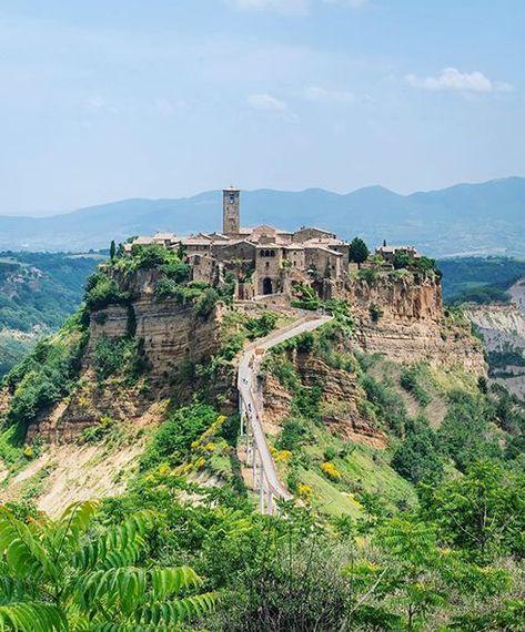 Civita Di Bagnoregio Lavito Italy Italy Travel Europe Travel