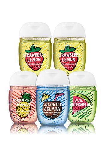 Fruity Summer Fun 5 Pack Pocketbac Hand Sanitizers Bath And Body