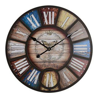 Sophisticated Warm And Rustic Industrial Wall Art Decor Home Wall Art Decor Industrial Wall Art Vintage Clock Vintage Wall Clock