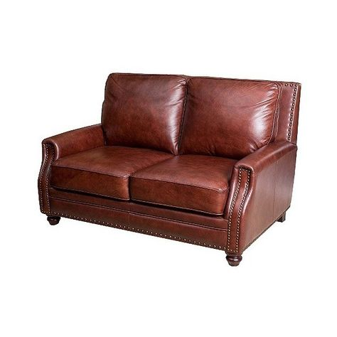 Excellent Ethan Leather Loveseat Burgandian Wine 1 376 Liked On Uwap Interior Chair Design Uwaporg