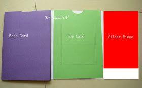 Cards Crafts Kids Projects Pop Up Slider Card Tutorial Card Tutorial Slider Cards Card Making Tutorials