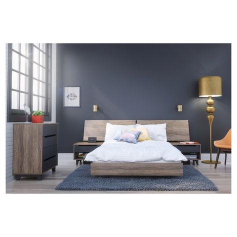 5 Piece Alibi Full Size Bedroom Set Nexera