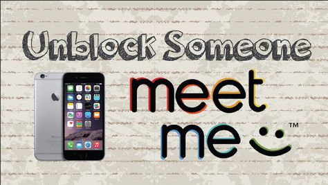 How to unblock someone on MeetMe | Mobile App (Android