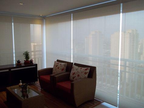 persianas rolô para sacadas a linha de cortinas rolo possui uma