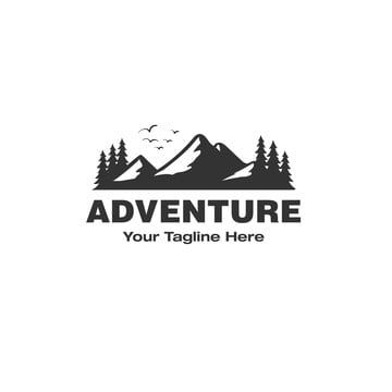 Adventure Logo Designs Inspirations With The Mountain View Logo Icons Mountain Icons View Icons Png And Vector With Transparent Background For Free Download Adventure Logo Design Tree Logo Design Musical Logo