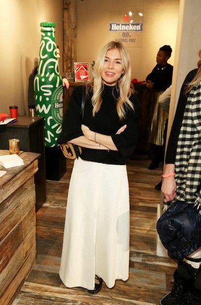 Sienna Miller Photos Photos Heineken At Thewrap Studio At Sundance Film Festival Day 1 In 2020 Sienna Miller Sundance Film Festival Tokyo Fashion