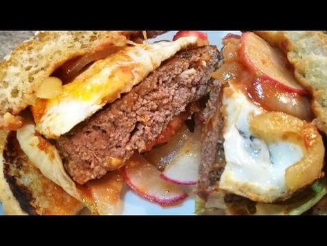 Homemade Burger Youtube Makanan Makanan Dan Minuman Burger