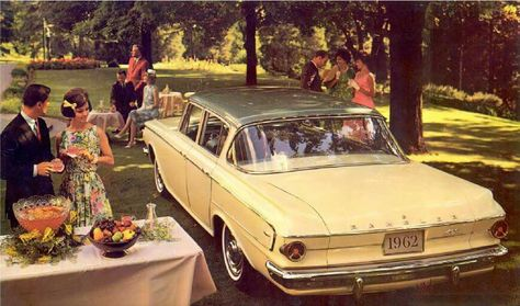 1962 Rambler Classic 400 4-Door Sedan