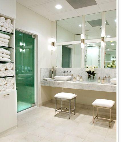 SLS Hotel at Beverly Hills—Ciel Spa Womens Locker Room   LA/Hotels ...
