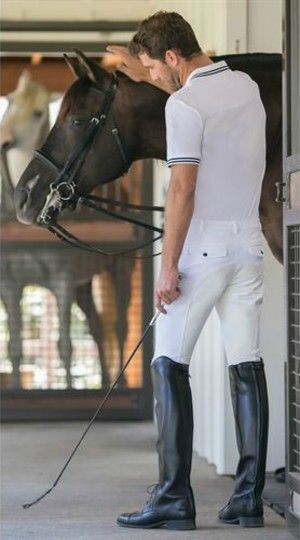 Riding outfit. | Men's equestrian, Riding outfit, Boots outfit men