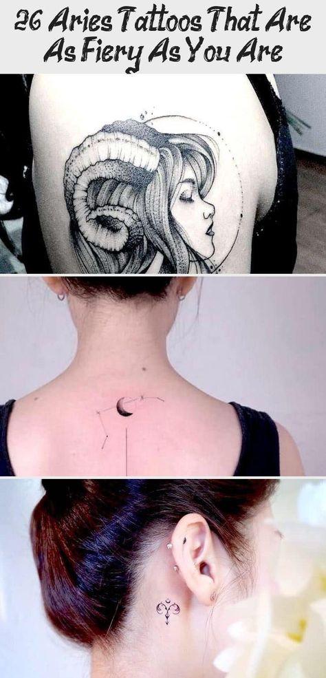 15 Widder Tattoos, die anspruchsvoll und feurig sind -Ourmindfullife.com // Tierkreis ... -  15 Widder Tattoos, die anspruchsvoll und feurig sind –Ourmindfullife.com // Sternzeichen / Widder - #anspruchsvoll #die #feurig #ourmindfullife #Ourmindfullifecom #sind #tattoos #tierkreis #und #widder
