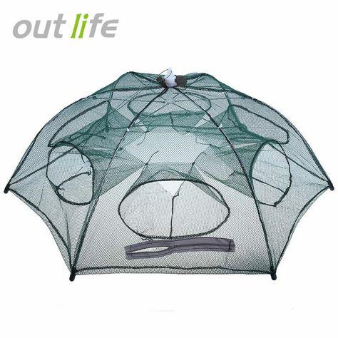 Fishing Net Trap Fishing Mesh Network Foldingfish Bag Small Fishing Tackle Me Fw