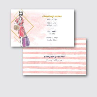 Clothing Standard Business Cards Templates Designs Page 2 Vistaprint Business Card Template Design Business Card Template Vistaprint