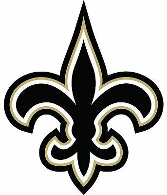New Orleans Saints Nfl Football Color Logo Sports Decal Sticker Free Shipping Nfl Saints New Orleans Saints Logo New Orleans Saints